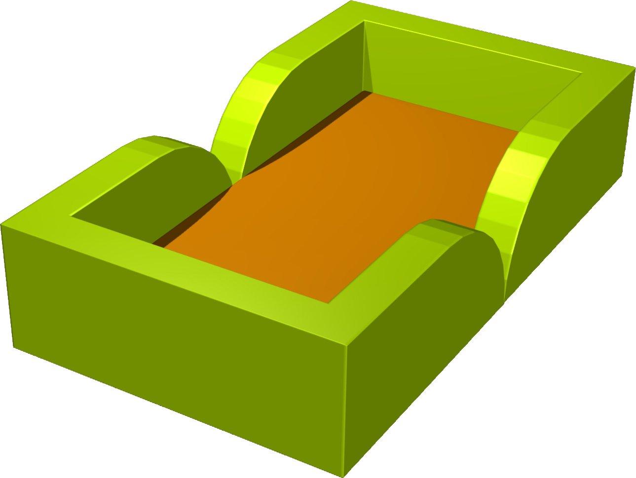 contour de matelas paisseur 10 140 x 80 x 30 cm compatible avec matelas 120 ref pue 7 2. Black Bedroom Furniture Sets. Home Design Ideas