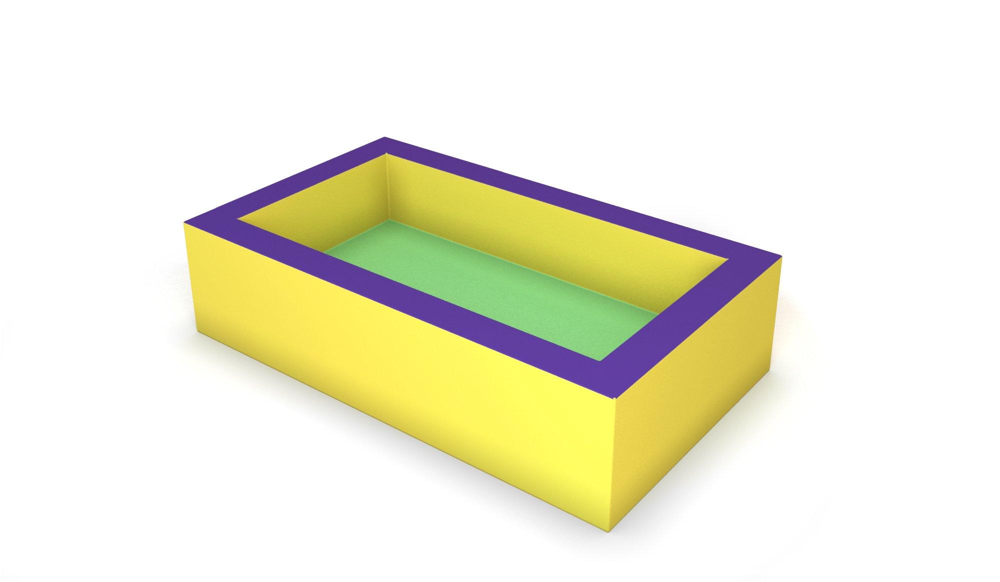 lit tout mousse 100 avec matelas 120 x 70 x 30 cm ref. Black Bedroom Furniture Sets. Home Design Ideas
