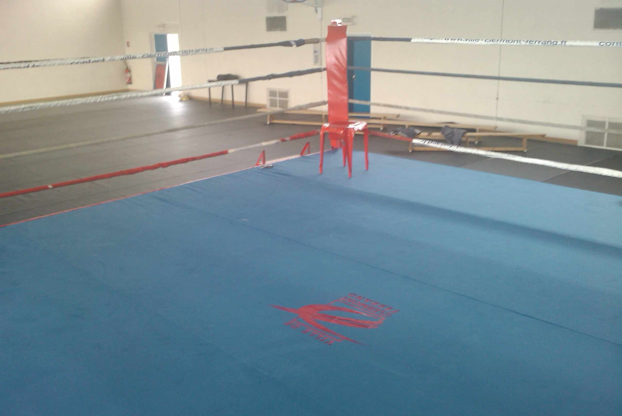 Ring de Boxe Toile PVC - 460 x 460 cm (REF BOX-9.4)