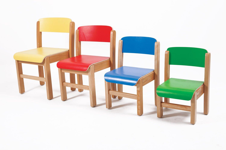 Chaise hauteur 21 cm ref bois 13 1 - Sillas infantiles ...